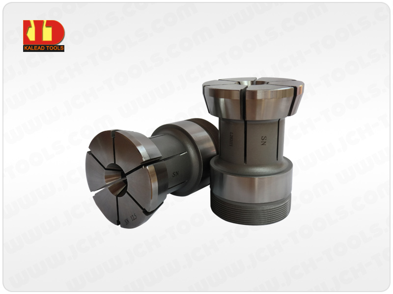 Special large collet.